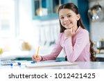 happiness inside me. beautiful... | Shutterstock . vector #1012421425