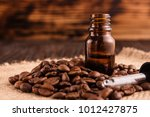 essential oil of coffee beans... | Shutterstock . vector #1012427875