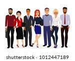 vector illustration of cool... | Shutterstock .eps vector #1012447189