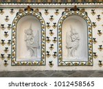 the angles on the wall at... | Shutterstock . vector #1012458565