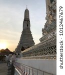 pagodas at temple of dawn  wat... | Shutterstock . vector #1012467679