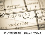 Douglas. South Dakota. Usa On ...