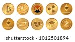 Cryptocurrency Logo Set  ...