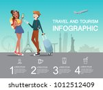 man and girl planning at...   Shutterstock .eps vector #1012512409