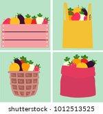illustration of different... | Shutterstock .eps vector #1012513525