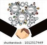 flat design illustration...   Shutterstock . vector #1012517449