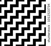 classic chevron zigzag seamless ... | Shutterstock .eps vector #1012523734