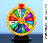 luck and fortune concept.... | Shutterstock . vector #1012527241