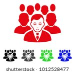 crowd vector pictogram. vector... | Shutterstock .eps vector #1012528477