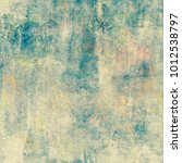 colorful grunge texture... | Shutterstock . vector #1012538797