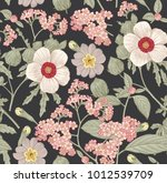 seamless pattern. beautiful... | Shutterstock .eps vector #1012539709