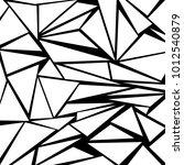 white and black geometric...   Shutterstock .eps vector #1012540879
