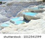 pamukkale turkish mineral... | Shutterstock . vector #1012541599