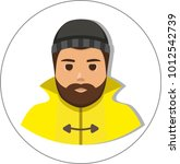 fisherman sailor  seaman man in ...   Shutterstock .eps vector #1012542739
