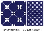 arabic patter style tiles for... | Shutterstock .eps vector #1012543504