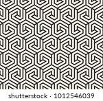 vector seamless pattern. modern ... | Shutterstock .eps vector #1012546039
