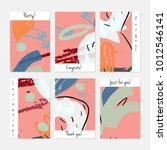 hand drawn creative universal... | Shutterstock .eps vector #1012546141