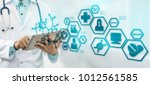 medical science concept  ... | Shutterstock . vector #1012561585