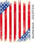 us grunge poster. american... | Shutterstock .eps vector #101257141