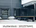 motor terminal and unloading of ... | Shutterstock . vector #1012576441