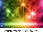 colorful light show.... | Shutterstock . vector #101257897