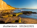 scenic panoramic landscape of... | Shutterstock . vector #1012612321