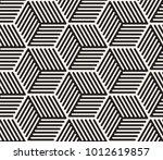 vector seamless pattern. modern ... | Shutterstock .eps vector #1012619857