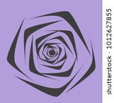 rose. vector flower. beautiful...   Shutterstock .eps vector #1012627855