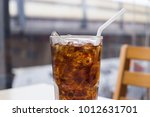 close up and beautiful cola... | Shutterstock . vector #1012631701