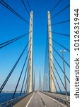 view of oresund bridge between... | Shutterstock . vector #1012631944