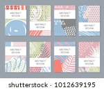 abstract colorful backgronds...   Shutterstock .eps vector #1012639195