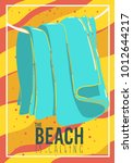 Beach Summer Design With ...