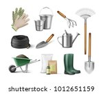 vector set of tools for... | Shutterstock .eps vector #1012651159