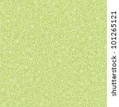 Stock vector children s seamless background flower is green 101265121