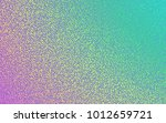 holographic grunge dot textured ... | Shutterstock .eps vector #1012659721