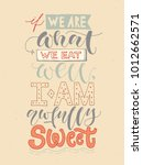 inspirational quote  if we are... | Shutterstock .eps vector #1012662571