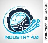 industry 4.0 concept business... | Shutterstock .eps vector #1012665331