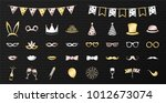 collection of party icons  ... | Shutterstock .eps vector #1012673074