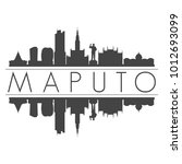 maputo mozambique africa...   Shutterstock .eps vector #1012693099