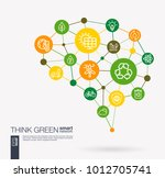 ai creative think green system... | Shutterstock .eps vector #1012705741