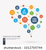 ai creative think system... | Shutterstock .eps vector #1012705744