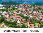 residential buildings and... | Shutterstock . vector #1012707007