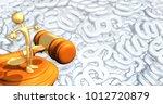 the original 3d character... | Shutterstock . vector #1012720879