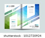 brochure template  flyer design ... | Shutterstock .eps vector #1012720924