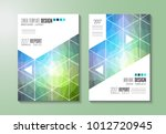 brochure template  flyer design ... | Shutterstock .eps vector #1012720945