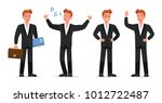 business people vector... | Shutterstock .eps vector #1012722487