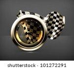 racing icon  vector | Shutterstock .eps vector #101272291