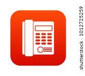 office business keypad phone... | Shutterstock .eps vector #1012725259