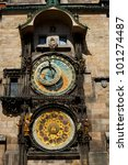 Old Astronomical Clock In...