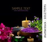 spa over black | Shutterstock . vector #101275591
